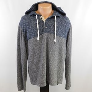 Lucky Brand distressed hoodie.  L
